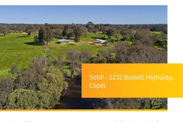 Recently Sold 2232 BUSSELL HIGHWAY, CAPEL, 6271, Western Australia