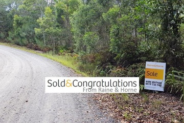 Recently Sold Lot 1 Thornton Peak Drive, DAINTREE, 4873, Queensland
