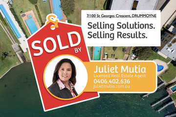 Recently Sold 7/100 St Georges Crescent, Drummoyne, 2047, New South Wales