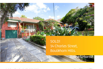 Recently Sold 14 Charles Street, Baulkham Hills, 2153, New South Wales