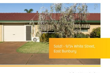 Recently Sold 9/14 White Street, EAST BUNBURY, 6230, Western Australia
