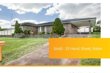 Recently Sold 25 Hurst Street, EATON, 6232, Western Australia
