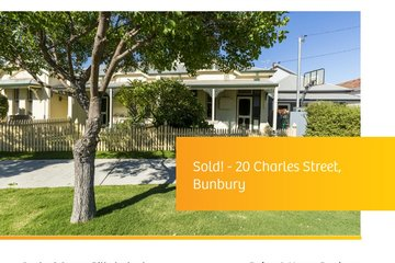 Recently Sold 20 Charles Street, BUNBURY, 6230, Western Australia