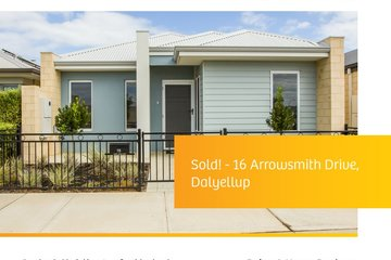 Recently Sold 16 Arrowsmith Drive, Dalyellup, 6230, Western Australia