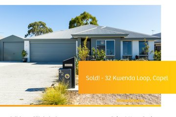 Recently Sold 32 Kwenda Loop, CAPEL, 6271, Western Australia