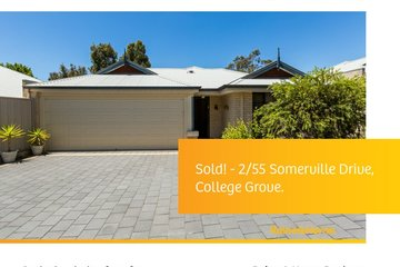 Recently Sold 2/55 Somerville Drive, COLLEGE GROVE, 6230, Western Australia