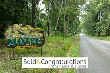 Recently Sold 336 (1437) Cape Trib Road, Daintree Motel, Daintree, 4873, Queensland