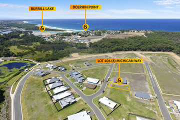 Recently Sold Lot 406, 8 Michigan Way, BURRILL LAKE, 2539, New South Wales