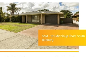 Recently Sold 131 Minninup Road, South Bunbury, 6230, Western Australia