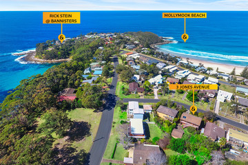 Recently Sold 3 Jones Avenue, Mollymook Beach, 2539, New South Wales