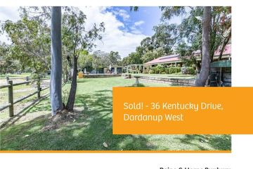 Recently Sold 36 Kentucky Drive, Dardanup West, 6236, Western Australia