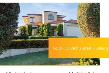 Recently Sold 10 Sherry Street, Bunbury, 6230, Western Australia