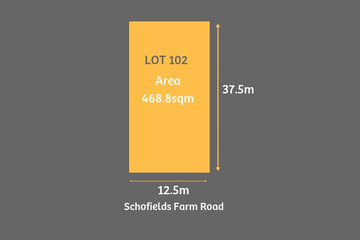 Recently Sold Lot 102 Schofields Farm Road, Schofields, 2762, New South Wales