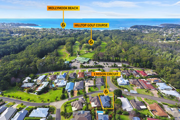 Recently Sold 1 Mison Circuit, Mollymook Beach, 2539, New South Wales