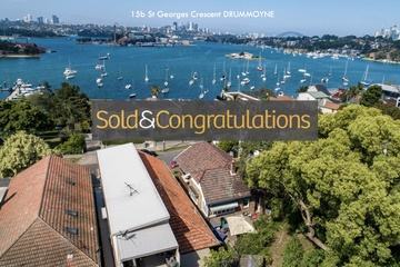 Recently Sold 15B St Georges Crescent, Drummoyne, 2047, New South Wales