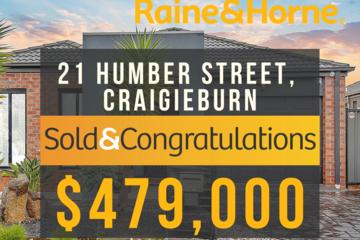 Recently Sold 21 Humber Street, Craigieburn, 3064, Victoria
