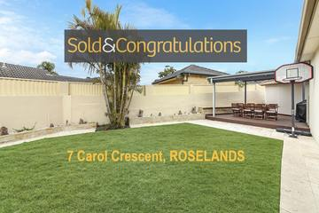Recently Sold 7 CAROL CRESCENT, Roselands, 2196, New South Wales