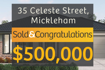 Recently Sold 35 Celeste Street, Mickleham, 3064, Victoria