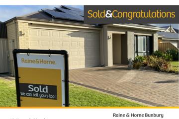 Recently Sold 18 Koonak Street, Dalyellup, 6230, Western Australia
