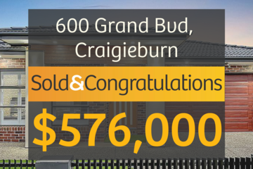 Recently Sold 600 Grand Boulevard, Craigieburn, 3064, Victoria