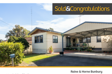 Recently Sold 44A Goldsmith Street,, South Bunbury, 6230, Western Australia