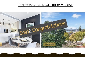 Recently Sold 14/162-166 Victoria Road, Drummoyne, 2047, New South Wales