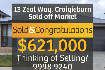 Recently Sold 13 Zeal Way, Craigieburn, 3064, Victoria