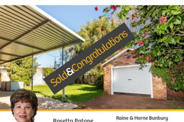 Recently Sold 9 WOLLASTON CRESCENT, East Bunbury, 6230, Western Australia