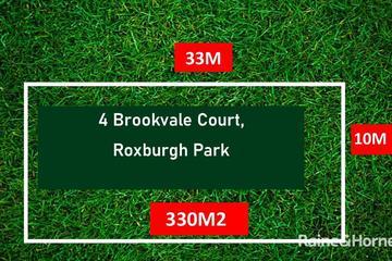 Recently Sold 4 Brookvale Court, Roxburgh Park, 3064, Victoria