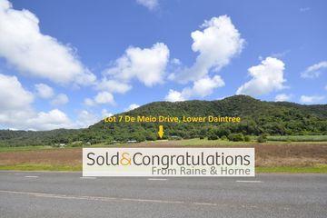 Recently Sold Lot 7 De Meio Drive, Lower Daintree, 4873, Queensland