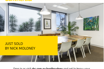 Recently Sold Suite 1.02 & 1.07/506 Miller Street, Cammeray, 2062, New South Wales