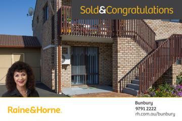 Recently Sold 1/13 Strickland Street, South Bunbury, 6230, Western Australia