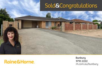 Recently Sold 54 Nalbarra Drive, Usher, 6230, Western Australia