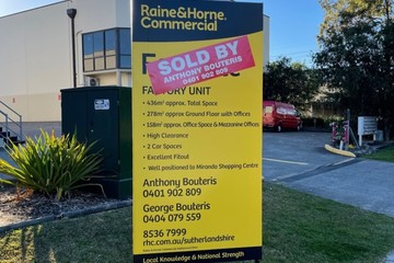 Recently Sold 9/205 Port Hacking Road, Miranda, 2228, New South Wales