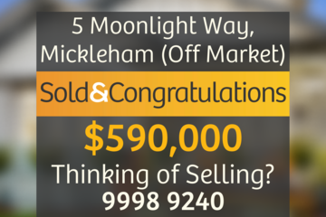 Recently Sold 5 Moonlight Way, Mickleham, 3064, Victoria