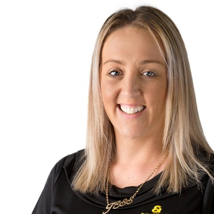 Jess Greenaway - Entries & Exits Manager
